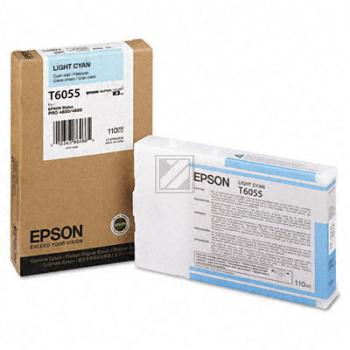 Epson Tintenpatrone Ultra Chrome K3 cyan light (C13T605500, T6055)
