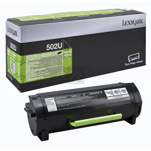 Lexmark Toner-Kit Corporate schwarz HC plus + (50F2U0E, 502U)