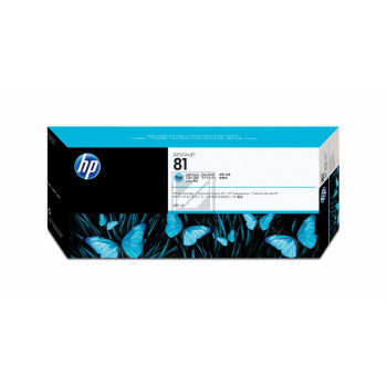 HP Tintenpatrone cyan light (C4934A, 81)