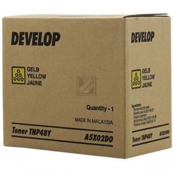 Develop Toner-Kit gelb (A5X02D0, T-NP48Y)